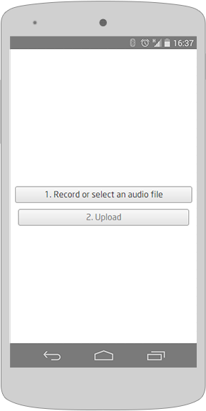 Audio recording on mobile Android devices using HTML Media Capture