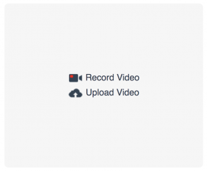 Pipe desktop video recorder client running on Chrome on Mac with desktop file uploads turned on.