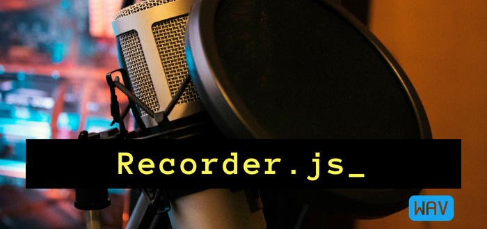 Using Recorder js to capture WAV audio in HTML5 and upload it to