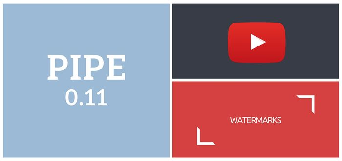 Pipe 0.11 Brings YouTube Integration and More
